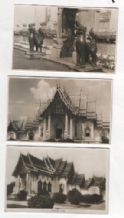 6 old postcards of Siam old Thailand Real photographic   #166